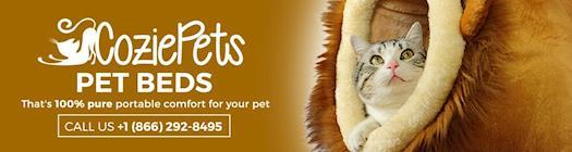 Cozie Pets Banner