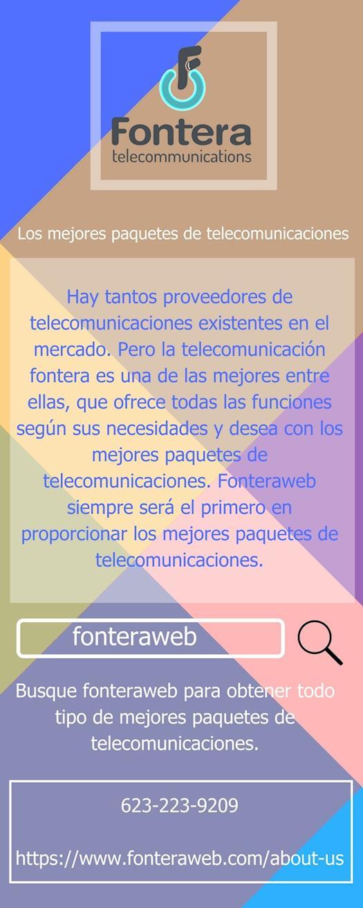 Los mejores paquetes de telecomunicaciones - fonteraweb