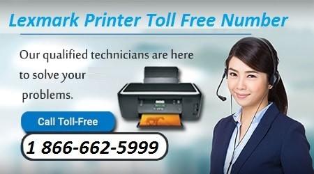 lexmark printer phone number