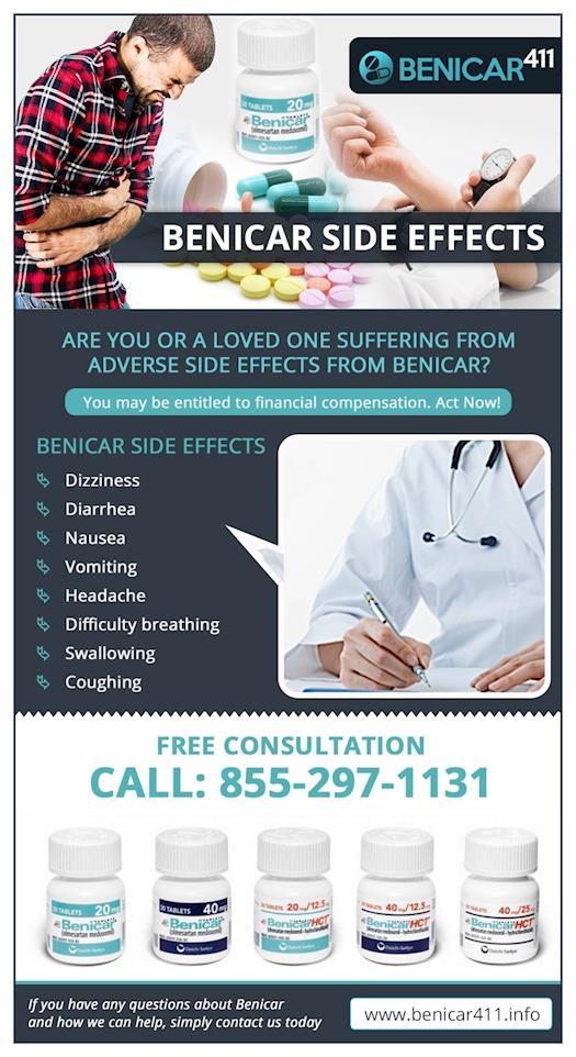 Side Effects Of Benicar