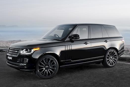 Range Rover Chauffeur Service In London