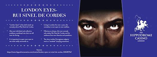 London Eyes - Rui Sinel de Cordes