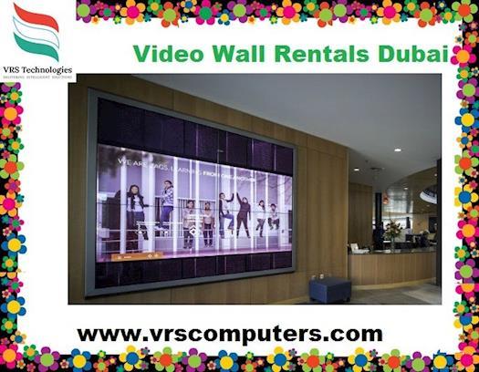 Video wall rentals Dubai