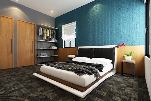 Dynamic Design Look   Master Bedroom
