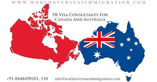 Canada and Australia Visa
