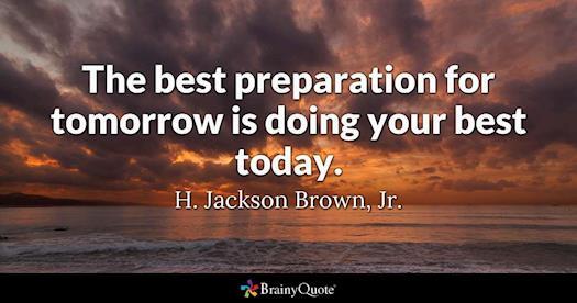Best Preparation