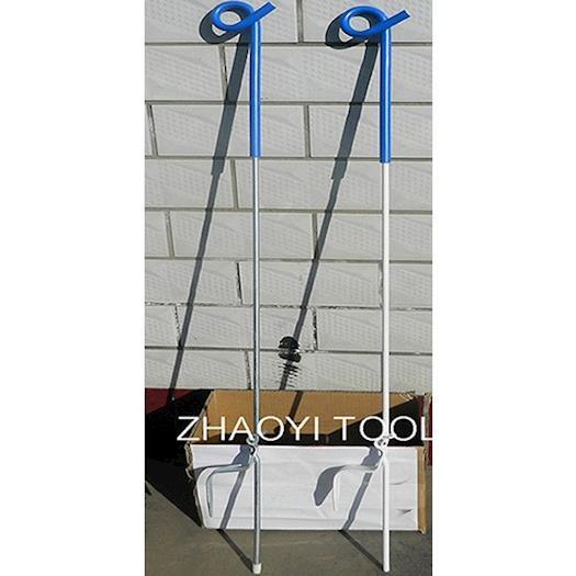 PP02 spring steel shaft pigtail paddock step-in pots