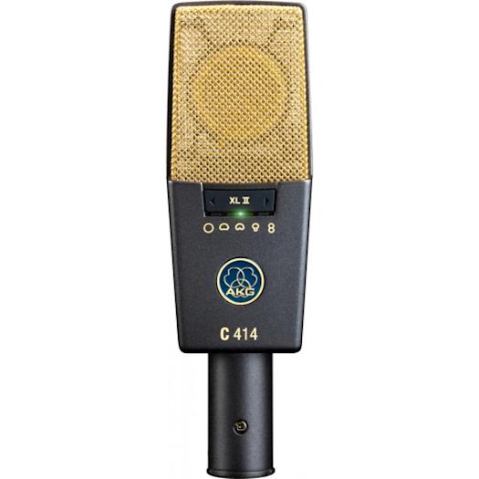 AKG C414XLII Condenser Microphone Studio Multipattern Mic