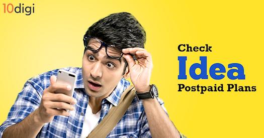 Check Idea Postpaid Plans