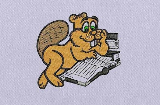 Beaver Embroidery Design - DigitEMB