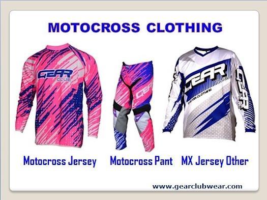 Motocross Clothing   Gear Club Wear