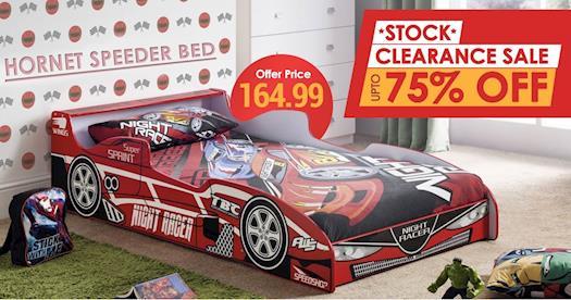 Julian Bowen Hornet Speeder Bed at Furniture Direct UK