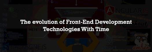 Front-End Development Technologies