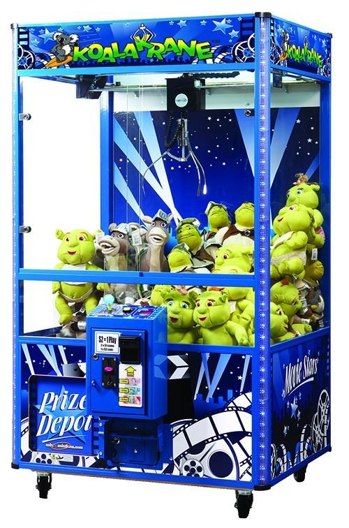 Movie Star Super Jumpo Koala Krane Machine