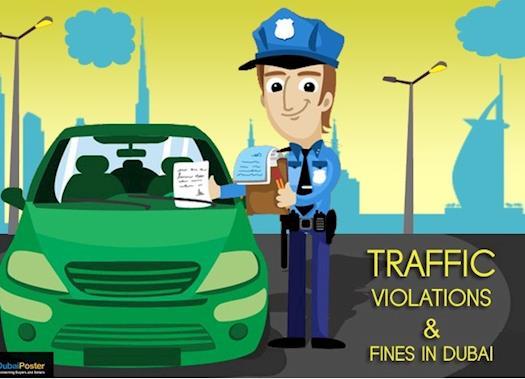 Traffic fines in Dubai